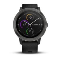 Garmin vívoactive 3 Touchscreen Bluetooth Schwarz Sportuhr (Schwarz)
