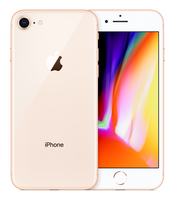 Apple iPhone 8 Single SIM 4G 256GB Gold (Gold)