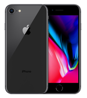 Apple iPhone 8 Single SIM 4G 64GB Grau (Grau)