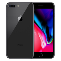 Apple iPhone 8 Plus Single SIM 4G 64GB Grau (Grau)