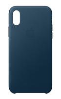 Apple MQTH2ZM/A 5.8Zoll Hauthülle Blau Handy-Schutzhülle (Blau)