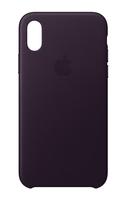 Apple MQTG2ZM/A 5.8Zoll Hauthülle Aubergine Handy-Schutzhülle (Aubergine)