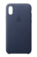 Apple MQTC2ZM/A 5.8Zoll Hauthülle Blau Handy-Schutzhülle (Blau)