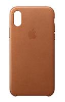 Apple MQTA2ZM/A 5.8Zoll Hauthülle Braun Handy-Schutzhülle (Braun)