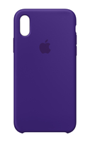 Apple MQT72ZM/A 5.8Zoll Hauthülle Violett Handy-Schutzhülle (Violett)