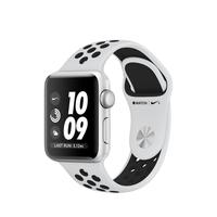 Apple Watch Nike+ OLED 26.7g Silber Smartwatch (Schwarz, Platin, Silber)