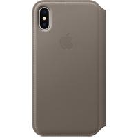 Apple MQRY2ZM/A 5.8Zoll Abdeckung Graubraun Handy-Schutzhülle (Graubraun)