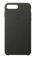 Apple MQHP2ZM/A 5.5Zoll Hauthülle Dunkelgrau, Grau Handy-Schutzhülle (Dunkelgrau, Grau)