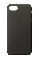 Apple MQHC2ZM/A 4.7Zoll Hauthülle Dunkelgrau, Grau Handy-Schutzhülle (Dunkelgrau, Grau)