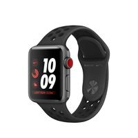 Apple Watch Nike+ OLED GPS Display diagonal Grau Smartwatch (Anthrazit, Schwarz, Grau)