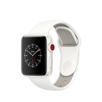 Apple Watch Edition OLED GPS Display diagonal Weiß Smartwatch (Weiß, Weiß)