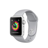 Apple Watch Series 3 OLED 26.7g Silber Smartwatch (Grau, Silber)