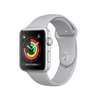 Apple Watch Series 3 OLED 32.3g Silber Smartwatch (Grau, Silber)