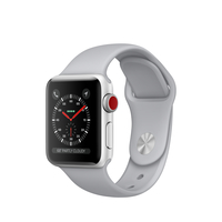 Apple Watch Series 3 OLED 28.7g Silber Smartwatch (Grau, Silber)