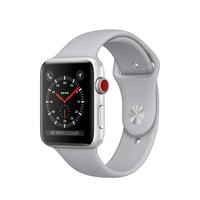 Apple Watch Series 3 OLED 34.9g Silber Smartwatch (Grau, Silber)