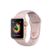 Apple Watch Series 3 OLED 26.7g Gold Smartwatch (Pink, Gold)
