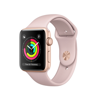 Apple Watch Series 3 OLED 32.3g Gold Smartwatch (Pink, Gold)