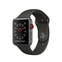 Apple Watch Series 3 OLED 34.9g Silber Smartwatch (Grau, Silber)