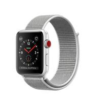 Apple Watch Series 3 OLED 34.9g Silber Smartwatch (Grau, Weiß, Silber)
