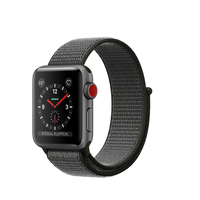 Apple Watch Series 3 OLED 28.7g Grau Smartwatch (Grau, Grau)
