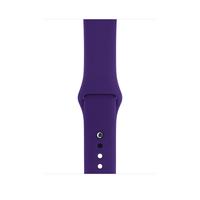 Apple MQUN2ZM/A Band Violett Fluor-Elastomer Smartwatch-Zubehör (Violett)