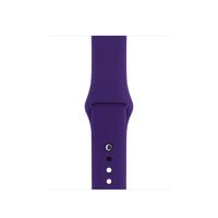 Apple MQUJ2ZM/A Band Violett Fluor-Elastomer Smartwatch-Zubehör (Violett)