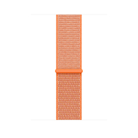 Apple MQWC2ZM/A Band Orange Nylon Smartwatch-Zubehör (Orange)