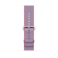 Apple MQVN2ZM/A Band Pink, Violett Nylon Smartwatch-Zubehör (Pink, Violett)