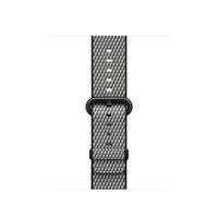 Apple MQV92ZM/A Band Schwarz, Grau Nylon Smartwatch-Zubehör (Schwarz, Grau)