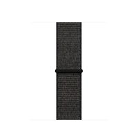 Apple MQVX2ZM/A Band Schwarz Nylon Smartwatch-Zubehör (Schwarz)