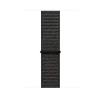 Apple MQW72ZM/A Band Schwarz Nylon Smartwatch-Zubehör (Schwarz)