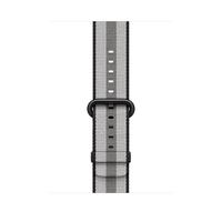 Apple MQVR2ZM/A Band Schwarz, Grau Nylon Smartwatch-Zubehör (Schwarz, Grau)