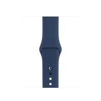 Apple MQUH2ZM/A Band Blau Fluor-Elastomer Smartwatch-Zubehör (Blau)