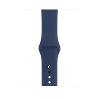 Apple MQUM2ZM/A Band Blau Fluor-Elastomer Smartwatch-Zubehör (Blau)