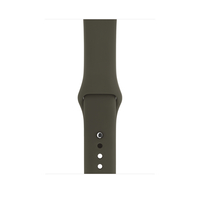 Apple MQUQ2ZM/A Band Olive Fluor-Elastomer Smartwatch-Zubehör (Olive)