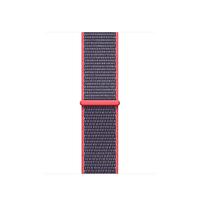 Apple MQW22ZM/A Band Grau, Pink Nylon Smartwatch-Zubehör (Grau, Pink)