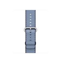 Apple MQVC2ZM/A Band Blau Nylon Smartwatch-Zubehör (Blau)