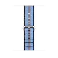 Apple MQVU2ZM/A Band Blau Nylon Smartwatch-Zubehör (Blau)