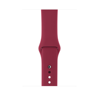 Apple MQUP2ZM/A Band Rot Fluor-Elastomer Smartwatch-Zubehör (Rot)