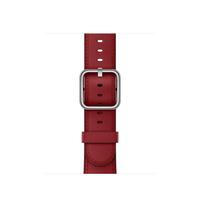 Apple MR392ZM/A Band Rot Leder Smartwatch-Zubehör (Rot)