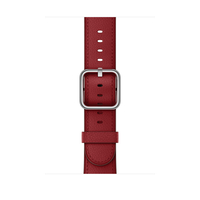 Apple MR3A2ZM/A Band Rot Leder Smartwatch-Zubehör (Rot)