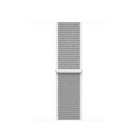 Apple MQVY2ZM/A Band Silber Nylon Smartwatch-Zubehör (Silber)