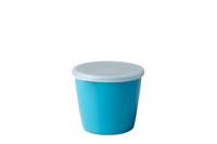 Rosti Mepal 106140011500 Oval Box 0.65l Blau Lebensmittelaufbewahrungsbehälter (Blau)