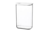 Rosti Mepal Modula Rechteckig Box 2l Transparent, Weiß 1Stück(e) (Transparent, Weiß)