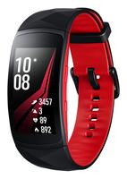 Samsung SM-R365 1.5Zoll SAMOLED 34g Schwarz, Rot Smartwatch (Schwarz, Rot, Schwarz, Rot)