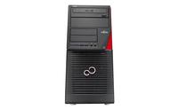 Fujitsu CELSIUS W550 3.6GHz i5-6500 Desktop Schwarz, Rot Arbeitsstation (Schwarz, Rot)