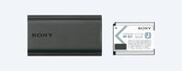 Sony ACC-TRDCJ Ladegerät (Schwarz)