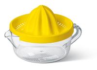EMSA 4009049289298 Acrylnitril-Butadien-Styrol (ABS), Styrol-Acrylnitril (SAN) Transparent, Gelb Zitronenpresse (Transparent, Gelb)