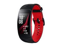 Samsung Gear Fit2 Pro (Größe S) (Rot, Schwarz, Rot)