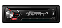 Pioneer DEH-S3000BT Bluetooth Schwarz Auto Media-Receiver (Schwarz)